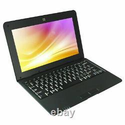 10.1 Notebook Laptop Computer Wifi Mini Netbook USB Slot Kids Xmas Gift 1GB+8GB
