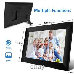 10 Wi-Fi 16GB TouchScreen Digital Picture Frame Xmas Gift Email Photos Anywhere