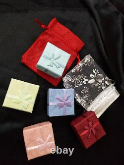 11ct Black White Sim Diamond Men's Wide Bracelet Free Gift Stud Christmas Silver