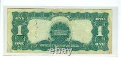 1899 $1 Black Eagle Silver Certificate Fr 226a Date Below 1915 Christmas Gift