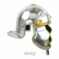 18G Steel Medieval Roman Imperial Gallic'B' Helmet Armour Christmas Gift Item