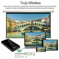 2020 Xmas Gift DLP Projector Household Multimedia Player For Laptops Game TV BOX