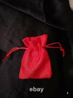 3 Ct Black & White Sim Diamond Men's Jason Mask Pendant Free Gift Stud Christmas