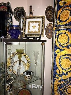 $500 Versace Medusa Tray Dish Love Baroque 8 Rosenthal Christmas Gift Sale