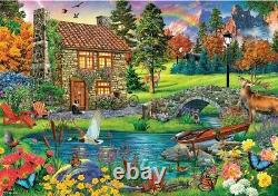 6000 pieces Jigsaw Puzzle House in the Mountains Perfect Christmas Gift -NEW