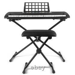 61-Key Digital Music Piano Keyboard Portable Electronic Musical Christmas Gift