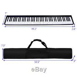 88 Key Portable Digital Piano MIDI Keyboard Christmas Gift withPedal