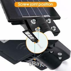 90W Solar LED Street Light Motion Sensor Lampara Farola Luz De Seguridad Patio
