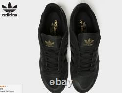 Adidas ZX 750 Mens Trainers Black Gold Suede Shoes Limited Edition All Sizes