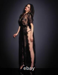 Agent Provocateur Fionna Lace Kaftan Slip Dress Size M/l Bnw0t & Xmas Gift Boxed