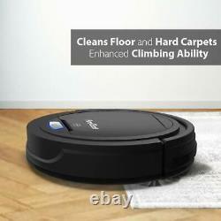 Aspiradora Vacuum Robotica Automatica Alfombra Carpeta Piso Madera Anti Alergica