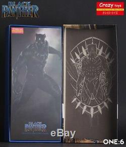 Avengers Infinite Wars 1/6 Black Panther Crazy Toys Action Figure Christmas Gift