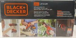 BLACK+DECKER 20V MAX Cordless Drill Combo Kit, 4-Tools! Fantastic Xmas gift