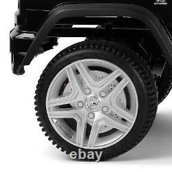 Black 12V Electric Kids Ride On Car Mercedes Benz Wheel Remote Control Xmas Gift