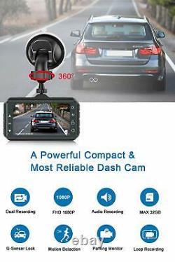 Camara D Seguridad Espia Para Auto Con Memoria 32GB Grabadora Automovil 1080P HD