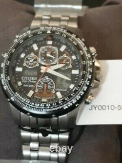 Citizen Eco-Drive JY0010-50E Promaster Skyhawk Men's Watch RARE Christmas Gift