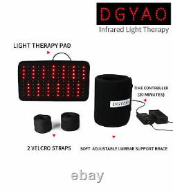 DGYAO Red Light Therapy Infrared Light Pad Back Pain Relief for Xmas Gift
