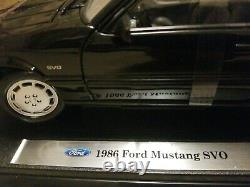 FORD MUSTANG SVO 118 WELLY 1986 Christmas New Year Gift