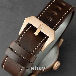 Glamor Master Genuine SWISS ETA2824 CuSn8 Bronze Watch Limited 200 Seagull 1963