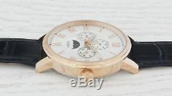Guess Mens Watch Rose Gold White SMART Gift Present Xmas Birthday W0870G2 UK