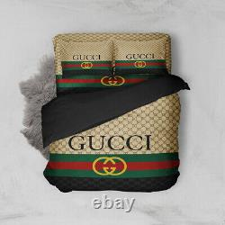 Hot Sale Bed Cover Gucci Size King Gift For Christmas