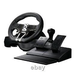 Hurricane Gaming Steering Wheel With Pedals PS4/PS3 Christmas Gift Playstation