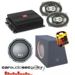 JBL GX-A604 Amp 12 FLI 1000W Sub Subwoofer 6x9 Speakers Deal