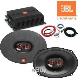 JBL Stage A6002 Amp Amplifier JBL Club 9632 Speaker Package Deal