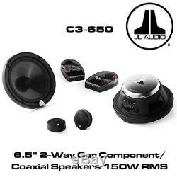 JL Audio C3-650 6.5 16.5cm Car Component/Coaxial Speakers 150W RMS Power