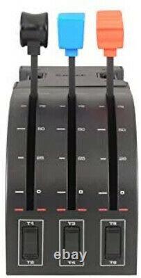 Logitech G Saitek Pro Flight Throttle Quadrant XMAS GIFT NEW