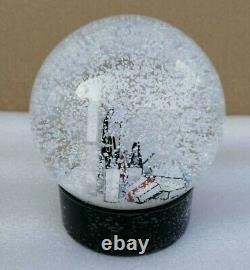 Luxury Snow Globe Logo Holiday 2019 Rare Vip Gift Collectible Crystal Ball