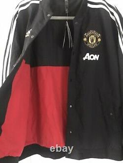 Manchester United Chinese New Year Adidas Bomber Jacket MUFC Christmas Gift