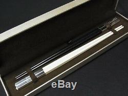 NEW Christofle PARIS Japanese Chopsticks Noir & Blanche Pair Set Gift From Japan