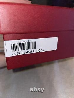 NEW Salvatore Ferragamo Large Black & Brown Leather Belt Employee Christmas Gift