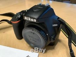 NIKON D3500 DSLR (BODY ONLY) 2019 Christmas Gift Used Mostly Video FREE SHIPPING