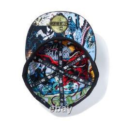 New Era 59Fifty Cap Marvel Venom Inside Allover Print Black 8 Christmas gift NEW