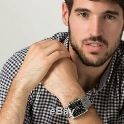 New Festina F16755/4 Men's Watch Silver Black Dial Chronograph Xmas Gift