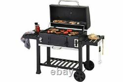 New XXL Large barbecue cooking Smoker Charcoal christmas gift Grill xmas BBQ UK