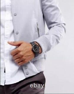 New Xmas Gift Emporio Armani Ar11079 Mens Black Watch, Coa 2 Y Warranty, Next