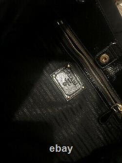 PRADA Black Jewelled Bag Perfect Christmas Gift Retail Price $1,350