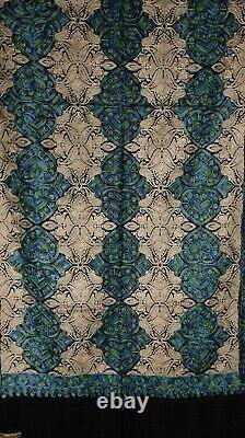 Pashmina Kashmiri Shawl Black, Winter Special, Perfect Gift, Fine Embroidery
