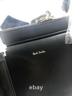 Paul Smith Black Leather Briefcase PERFECT XMAS GIFT