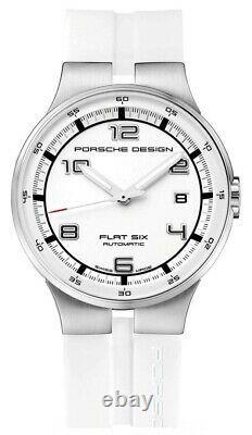 Porsche Design Watch Flat Six White Rubber Best Christmas Gift Fashion Luxury