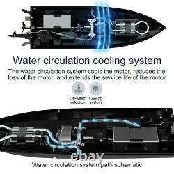 RC Racing Boat Brushless Waterproof Electronic Intelligent Kids Toys Xmas Gift