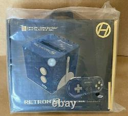 READ! Hyperkin RetroN Sq Game Console Black/Gold Father Cool Xmas Birthday GIFT