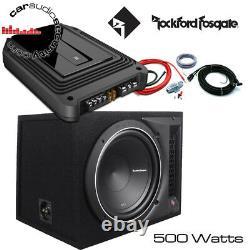 Rockford Fosgate Punch P1-1X12 Loaded Enclosure 12 Bass GXA Deal 500 Watts