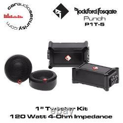 Rockford Fosgate Punch P1T-S Tweeter Kit Car Tweeters 120 Watts