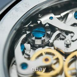 SEAGULL 1963 2021 Convex Acrylic Exhibition Case Chrono Mechanical Mens Watch