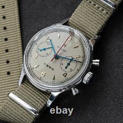 SEAGULL 1963 2021 DIAL Sapphire Nylon+Leather Mechanical Watch C1963BK