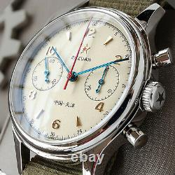 SEAGULL 1963 2021 Exhibition Case Sapphire Glass Chronograph Mechanical Watch